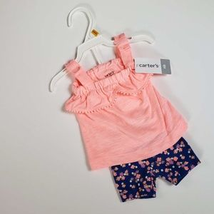 Carter's Newborn girls summer outfit *2 piece set*